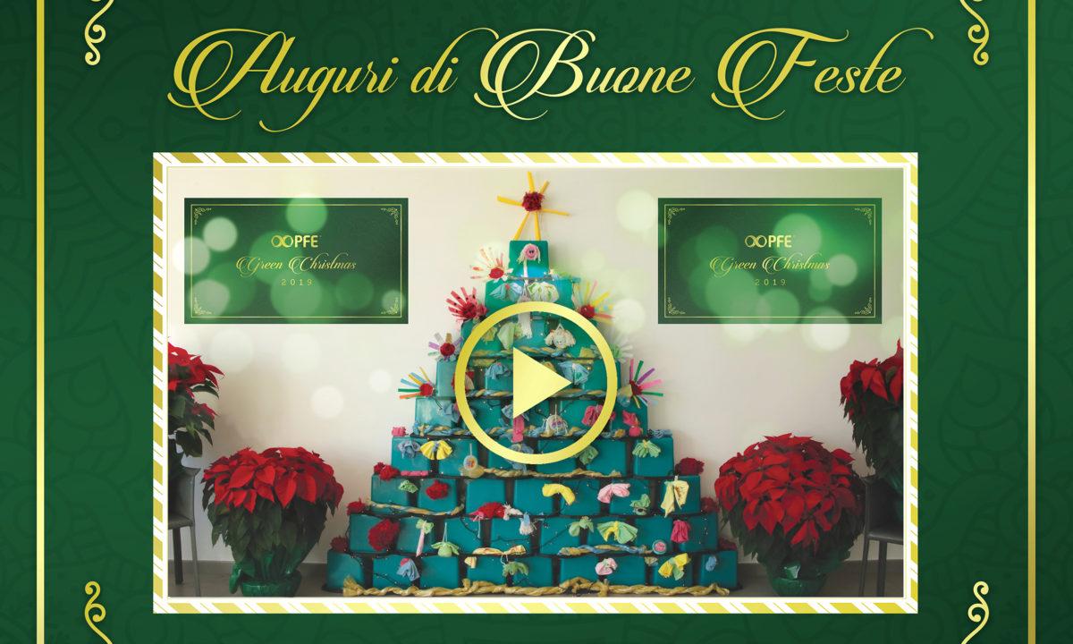 PFE Green Christmas: gli auguri speciali di Buone Feste