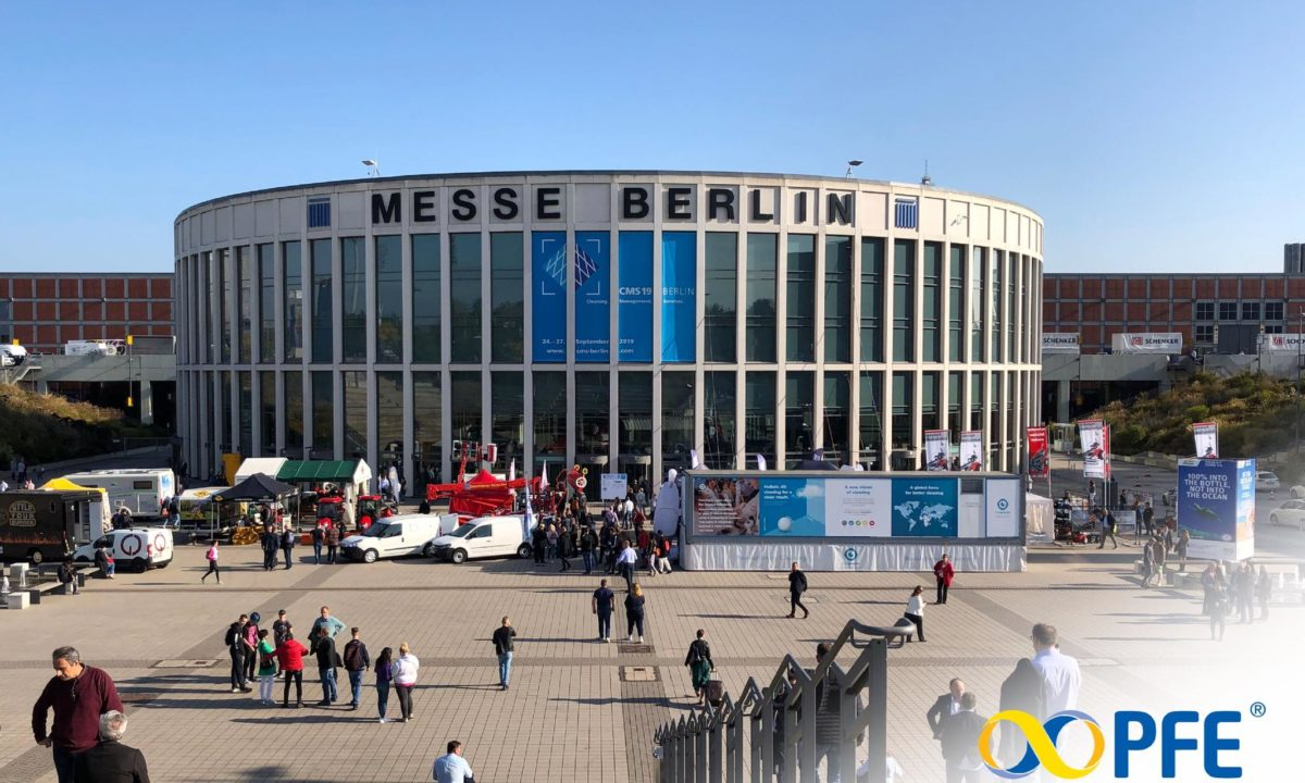 PFE al CMS Berlin World Summit 2019 Cleaning