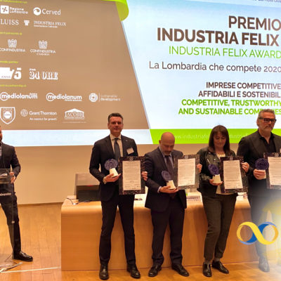 "PFE S.p.A. premiata da Industria Felix per la crescita ""ininterrotta"" dal 2007"