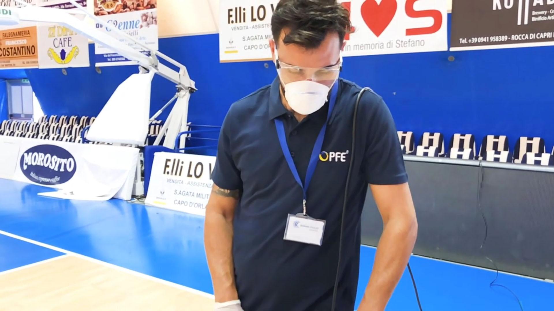 Cleaning e manutenzione degli impianti sportivi