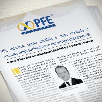 PFE Informa: come cambia e cosa richiede il mercato della sanificazione nel tempo del covid-19
