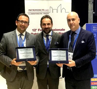 """L'Azienda Ospedaliera Universitaria """"Policlinico – G. Martino"""" e PFE S.p.A. vincono il premio Best Practice Patrimoni Pubblici 2018"""