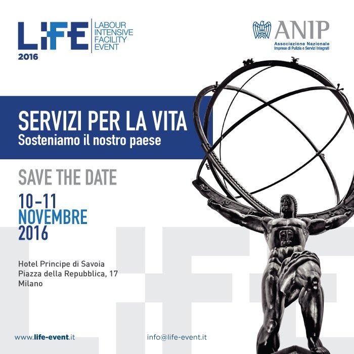 "PFE S.p.A. al LIFE 2016 ""Servizi per la vita"""