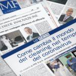 PFE & Milano Finanza: al servizio del Paese con informazioni pratiche sullo status del mercato della Sanificazione