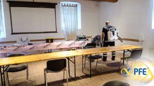 PFE informa: la sanificazione anti covid-19 per le grandi classiche del ciclismo italiano, parola a Marcello Abbate