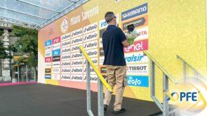 PFE & RCS Sport: a lavoro per la sanificazione del Giro d'Italia 2020