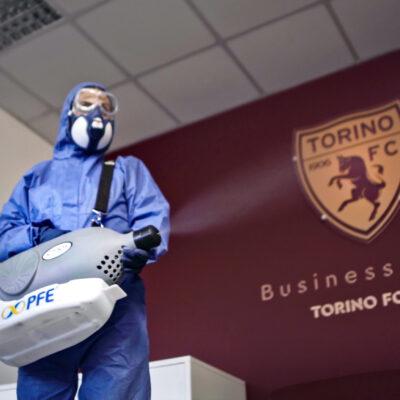 PFE fornitore ufficiale per la sanificazione dello stadio Grande Torino per il Torino FC